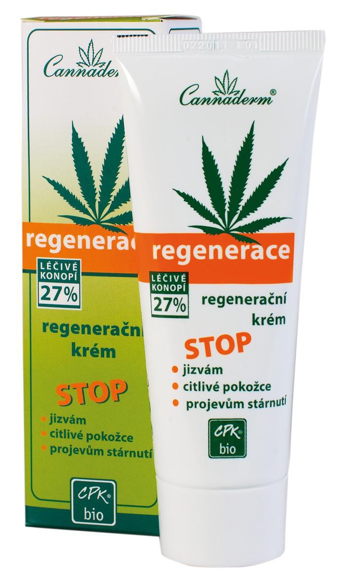 Cannaderm Regenerace konopný krém 75 ml